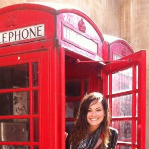 Icnoic phone booth in England
